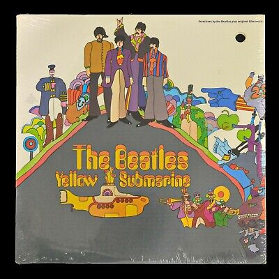 Beatles Yellow Submarine - Capitol SW 153 - Vinyl Record LP - Sealed Cutout