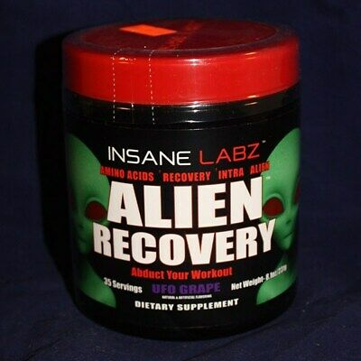 INSANE LABZ ALIEN RECOVERY (35 SERVING) psychotic gold i am god cutz labs amino