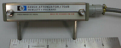 HP 8495H Attenuator DC-18 GHz 70 dB