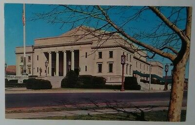 Vintage NEW JERSEY Postcard War Memorial Building Trenton Mercer County NJ