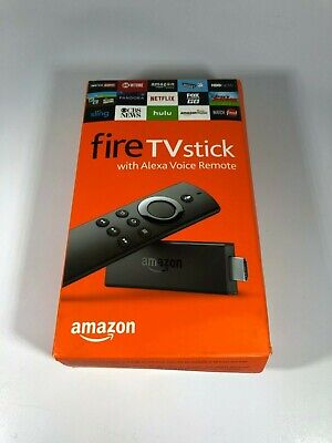 Amazon Fire TV Stick with Alexa Voice Remote- For parts- Blacklisted