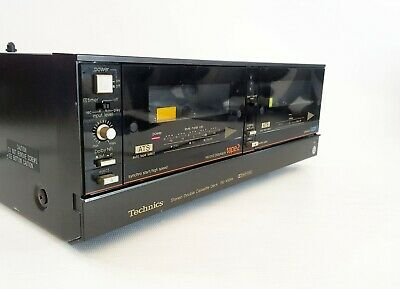 Technics RS-X50W Twin Cassette Deck with Manual - Dolby B + FREE UK DELIVERY