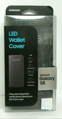 SAMSUNG LED WALLET Cover Case For Samsung Galaxy S9 Plus +