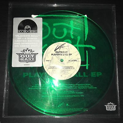 """Outkast - Player's Ball 10"""" LP - Green Colored Vinyl Record Store Day RSD ALBUM"""