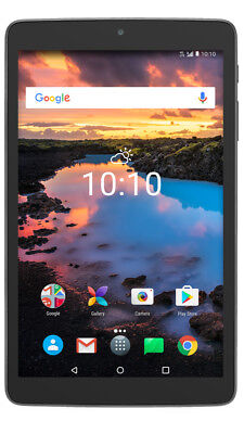 """NEW IN BOX Alcatel A30 8"""" Tablet WiFi 4G LTE GSM Cellular Unlocked Android"""