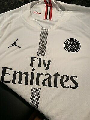 184651d30f10 BNWT 2018/19 Nike Paris Saint-Germain Vapor Match Men's Jersey 918923-102