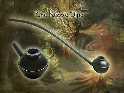 MacQueen The Kettle Lord of the Churchwarden Tobacco Pipe Birch Wood