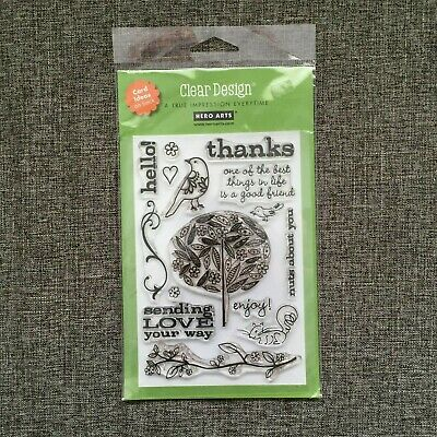 Like NEW or NIP U-Pick Hero Arts Stamp of Your Choice Rubber Cling or Clear