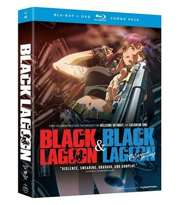 Black Lagoon: Complete Set (Season 1 and Season 2) [Blu-ray + DVD]