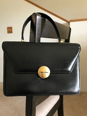 22621be7e0c9 CHARLES JOURDAN TOTE bag Orange Gold Woman Authentic Used Y6051 ...