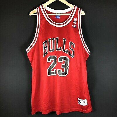 NEU Champion Michael Jordan XXL 52 Bulls NBA Trikot Air Basketball Jersey XI VI