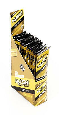 1 Box KUSH Herbal Wraps Ultra Slow Burn, LEMONADE aus Hanf - ohne Tabak!