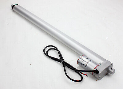 "12V Linear Actuator Motor 20 "" 500mm Stroke 750N 10mm/s Heavy Duty For Autos"