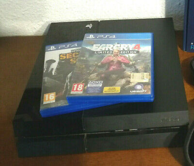 Sony Playstation 4 Ps4 1Tb + 2 Giochi