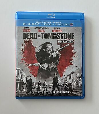 Dead in Tombstone Unrated (Blu-ray/DVD, 2013, 2-Disc Set)Brand New
