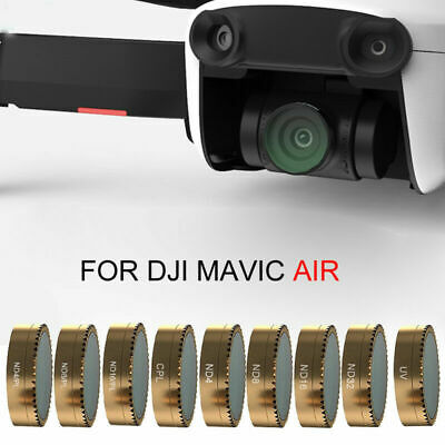 For DJI Mavic Air UV CPL PL-ND4/8/16 Gimbal Camera Lens Filter Accessories New