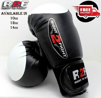 Pro Boxing Gloves Sparring Glove Punch Bag Training MMA Mitts