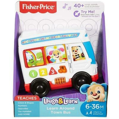 Fisher Price Laugh and Learn Around Town Bus