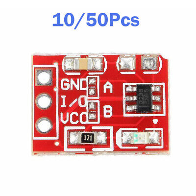 10/50 Pcs Capacitive Touch Switch Button Self Lock Module TTP223 for Arduino