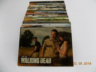 Cryptozoic The Walking Dead Season 2 Complete 80 Card Set