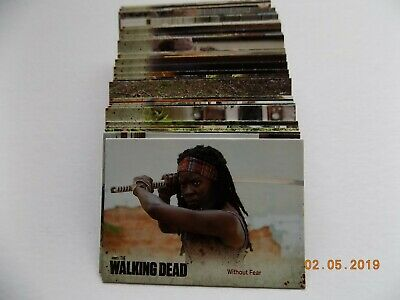 Cryptozoic The Walking Dead Season 3 Part 2 Complete 72 Card Set