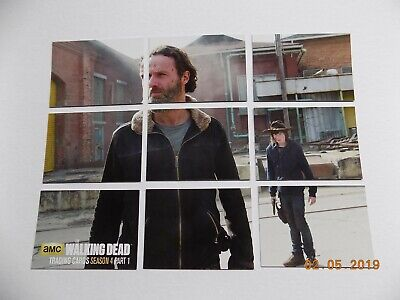 Cryptozoic The Walking Dead Season 4 Part 1 Chase Card Set Z1 - Z9