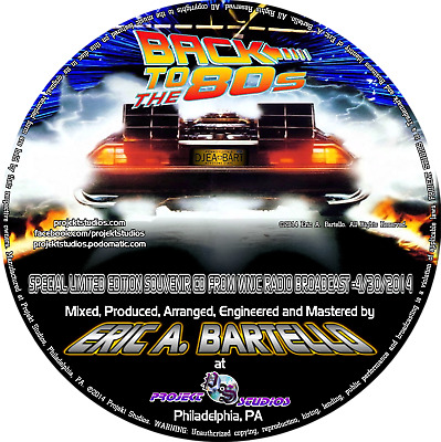 """Mixtape/Mix CD - """"Back To The 80's"""" - 80's/90's Electro/Freestyle Compilation"""