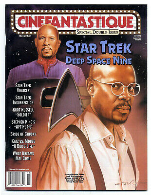 Cinefantastique v30 #9-10 (2000) Double issue, Patrick Stewart interview, Antz