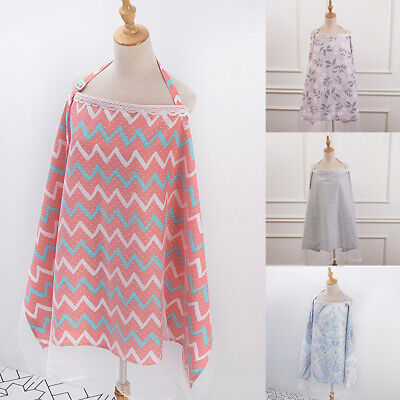 Cotton Shade In Public Nursing Cover Soft Nursing Safe Anti Insect Adjustable
