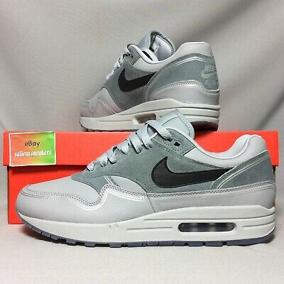official photos fed42 8281b Nike Air Max 1 UK9 AV3735-001 Centre Pompidou By Night EUR44 US10 Leather  Grey