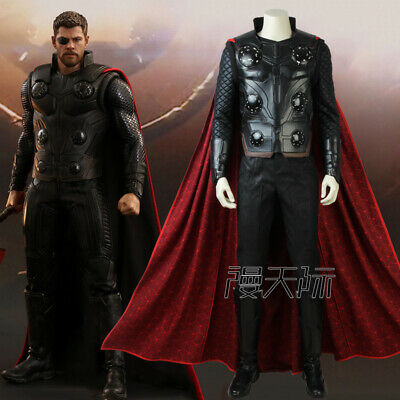 Avengers 4 Endgame Thor Odinson Costume Infinity War Cosplay Outfit Full Suits