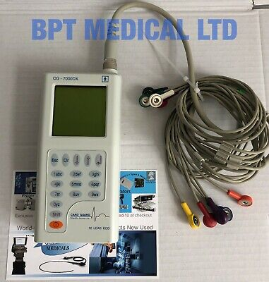 Card Guard 12 Lead ECG Recorders with 12 Lead Sets CG-7000DX