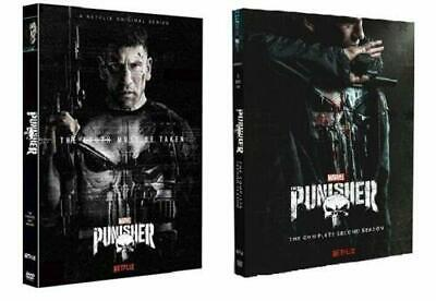 The Punisher Seasons 1 & 2 DVD  New and Sealed Free UK Delivery