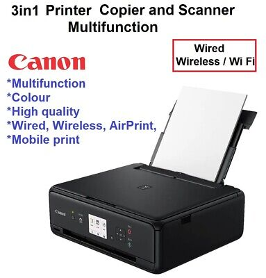 HP Printer Home Office Multifunction All in One Printer Wireless Print Scan Copy