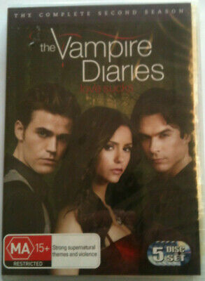 Vampire Diaries : Season 2 (DVD, 2011, 5-Disc Set)=NEW R4