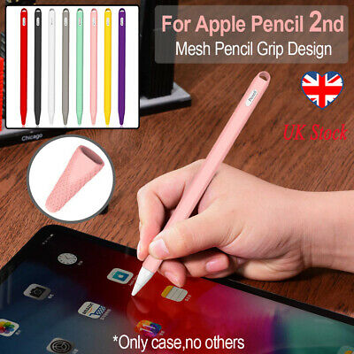 Silicone Pencil Case Cover Grip Holder Skin Pen Protective For Apple Pencil 2nd