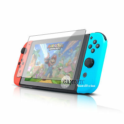 Premium Clear 9H Hardness Tempered Glass Screen Protector Nintendo Switch