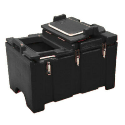 Cambro 100MPCHL110 Full Size Pan Capacity Camcarrier Food Carrier (Black)