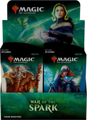 MTG Magic War Of The Spark Theme Booster Display Box SEALED!!