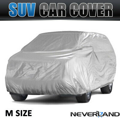 M SUV Full Car Cover Waterproof Outdoor Anti-Scratch UV Resistant Dust Protector