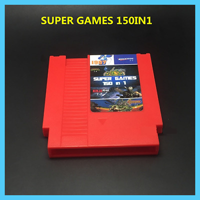 Nintendo NES Cartridge [ 150 In 1 Rockman Ninja Turtles Contra ] - More Games