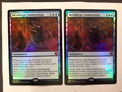 Foil Metallurgic Summonings x 1 MTG Magic the Gathering - NM