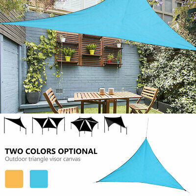 Triangle Sun Shade Sail Garden Patio Party Sunscreen Awning Canopy 98% UV Block