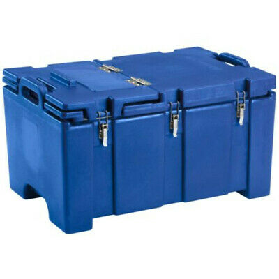 Cambro 100MPCHL186 Full Size Pan Capacity Camcarrier Food Carrier (Navy Blue)