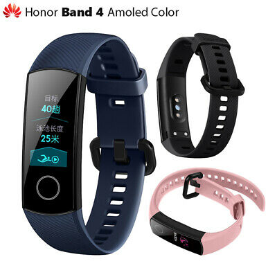 "Huawei Original Honor 4 bandas pulsera inteligente Amoled Color 0,95 ""Pantalla"