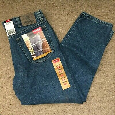 a0ca11ba New 38x30 Wrangler Relaxed Fit Blue Jeans Medium Wash Men's Denim NWT  97601DS