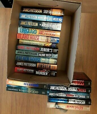 Lot of 19, James Patterson, All stated 1st editions, Cross and more