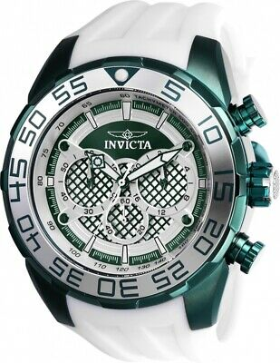 Invicta Watch Speedway Mens 50 mm Silver, Green Dial Model-26313