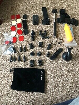 Action Camera Accessories Kit Selfie Stick for GoPro Hero