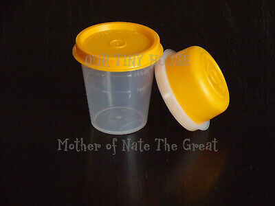 TUPPERWARE SMIDGET and Midget SET Spice Dressing Mini Smidgets Pill Box ORANGE
